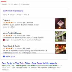 Google Changes Local Map Pack for Restaurant Queries